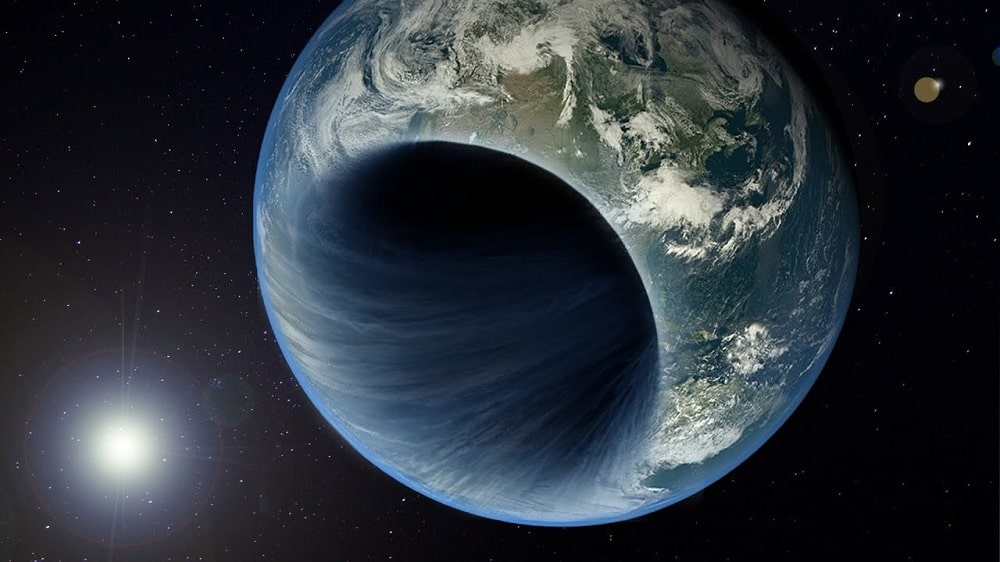 chercheurs affirment trou noir existe centre Terre couv