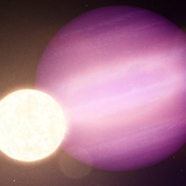 découverte première planète autour étoile naine blanche