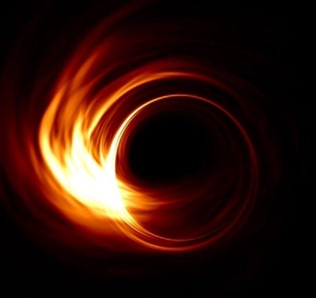détection variations lumineuses autour horizon événements trou noir couv