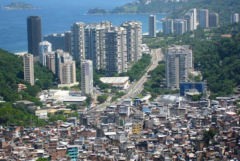 emissions 1 pourcent plus riches deux fois celles des 50 pourcent plus pauvres rocinha favela