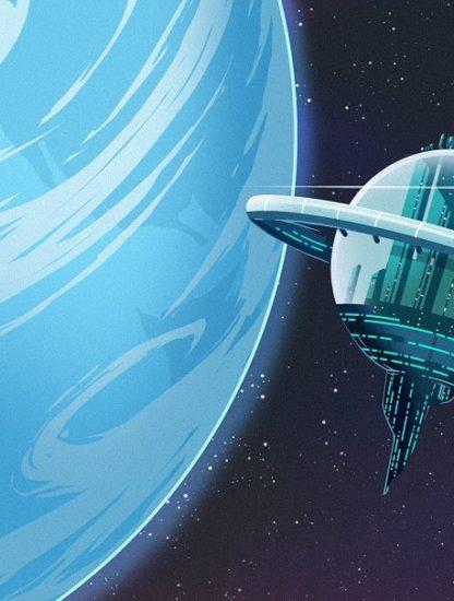 modèle arche spatiale capacité agrandissement