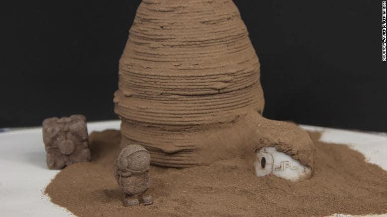 modele habitat martien chitine