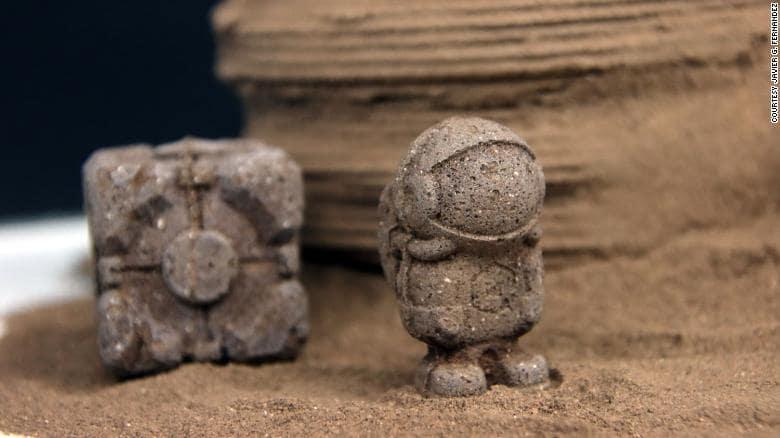 modele martien formes chitine