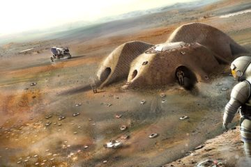 nouvelles techniques construction chitine colonisation mars