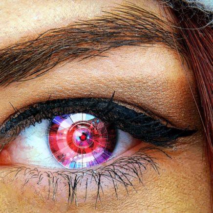 oeil bionique essai humain