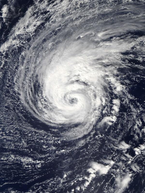 ouragan leslie tempête zombie