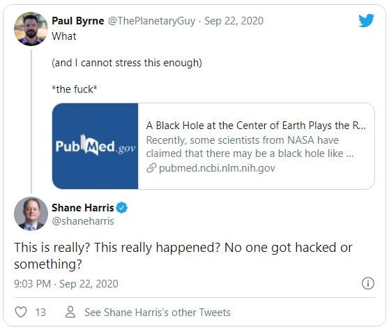 Réactions des chercheurs sur l'article Twitter