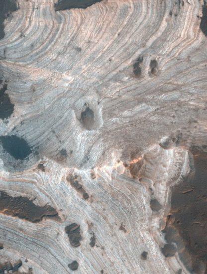 réseau lacs souterrains mars