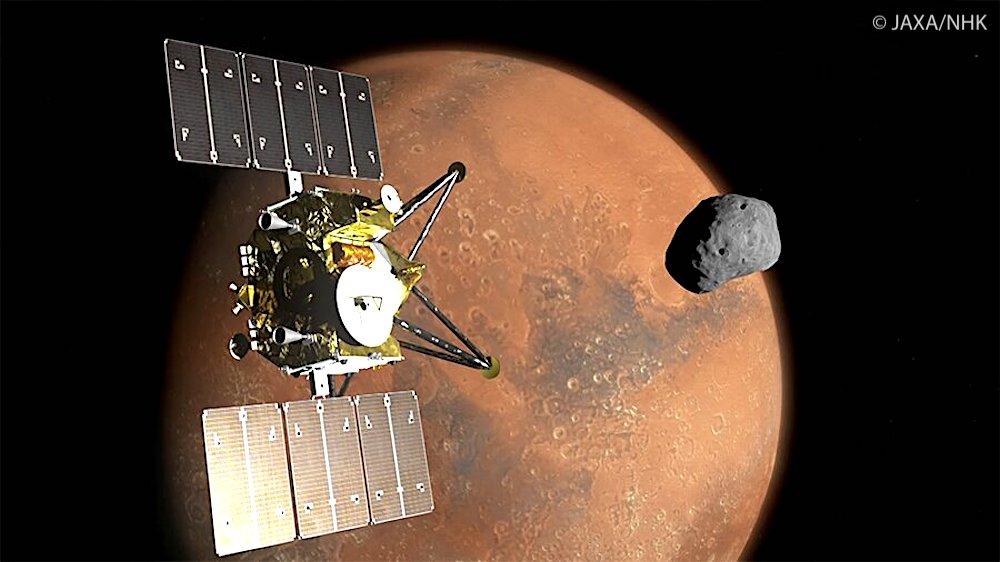 vaisseau martian moons exploration images 4k mars lunes