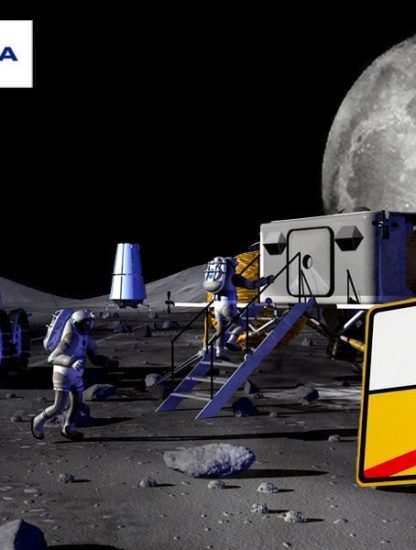 Nokia installera premie réseau 4G sur Lune couv