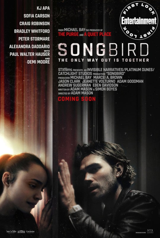 affiche film songbird pandémie