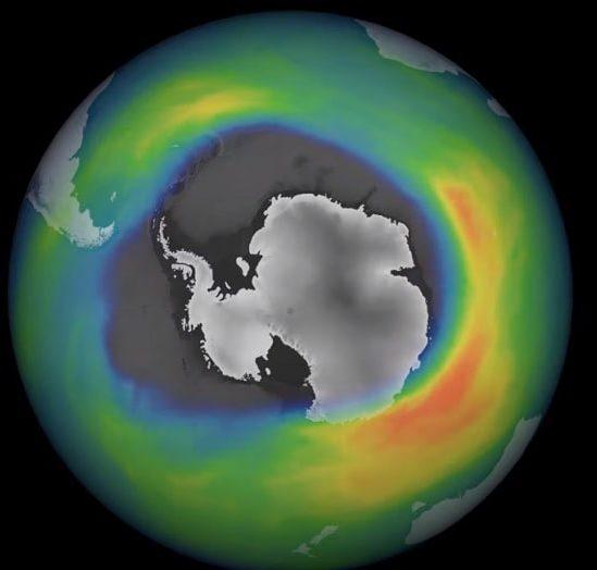 augmentation considérable trou couche d'ozone antarctique 2020 couv