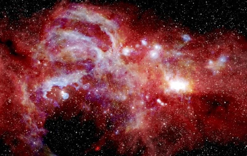 centre galaxie Voie lactée infrarouges SOFIA