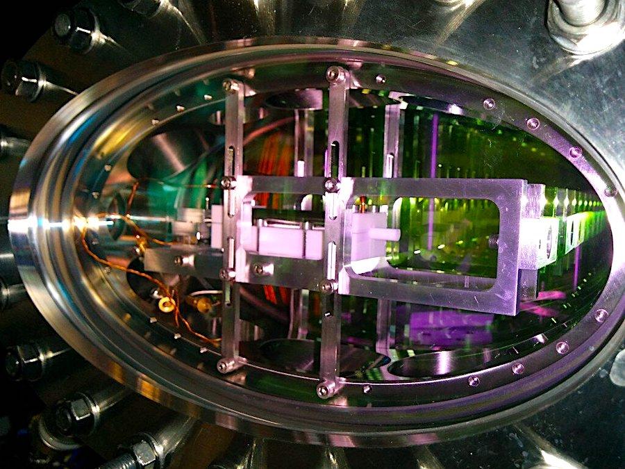 dispositif experience atomes rubidium