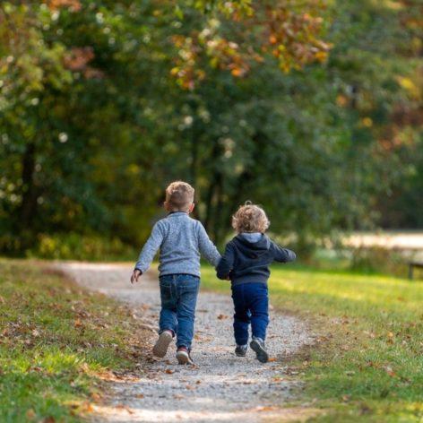 enfants nature bactéries immunité