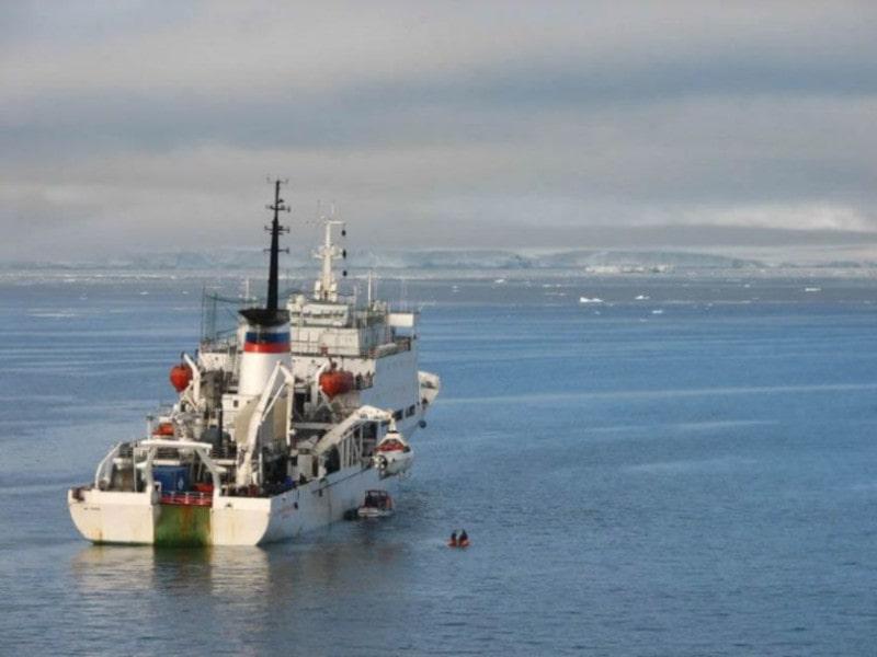 expédition étude plateau arctique sibérie