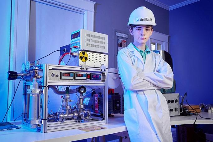 jackson oswalt fusion nucléaire record
