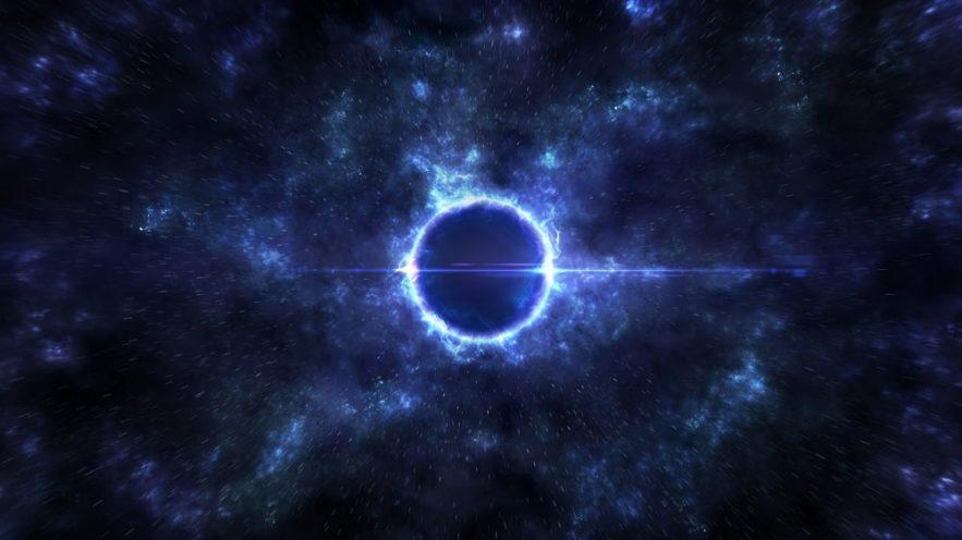 mini univers fractal existe dans hypothétiques trous noirs chargés