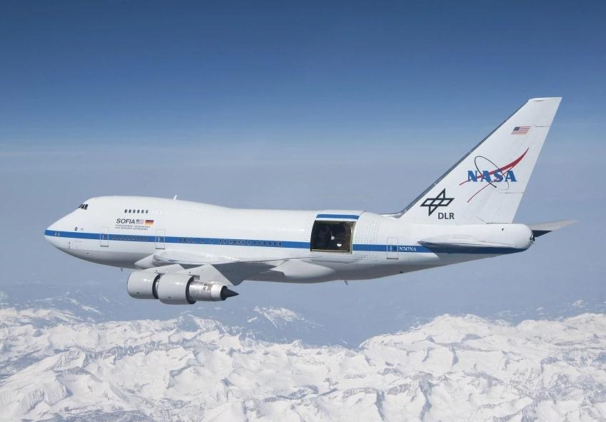 photo observatoire volant SOFIA