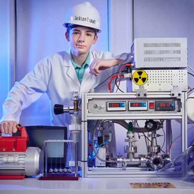 record fusion nucléaire fusor amateur