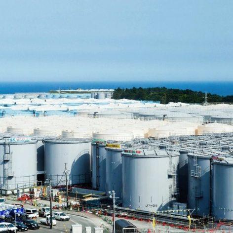 rejet eau contaminée fukushima océan représente risque couv