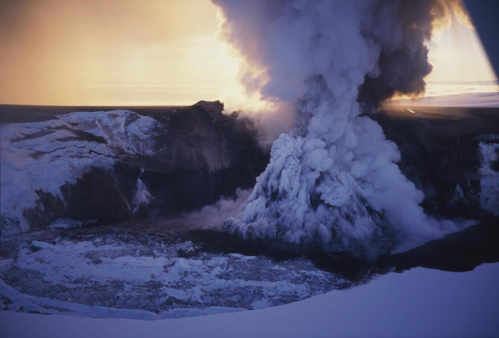 signes précurseurs éruption volcan islande grimsvotn
