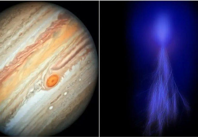 sonde juno révèle farfadets pourraient danser atmosphère Jupiter couv