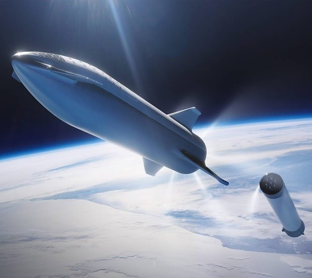 spaceX premier voyage Starship vers Mars 2024 couv