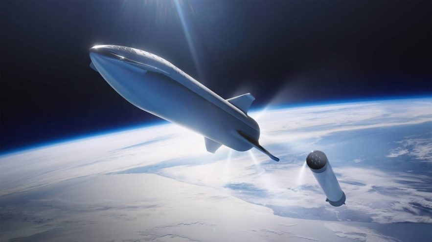 spaceX premier voyage Starship vers Mars 2024 couv