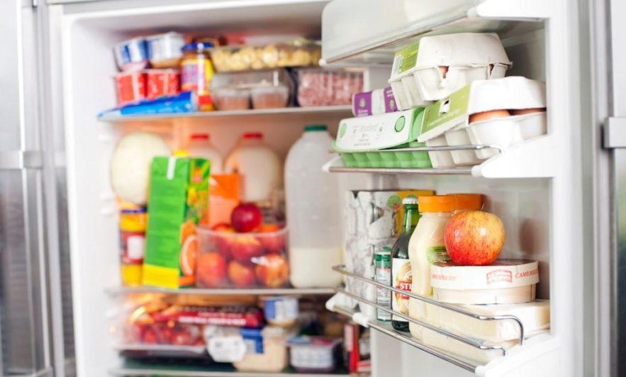stockage aliments chauds réfrigérateur couv