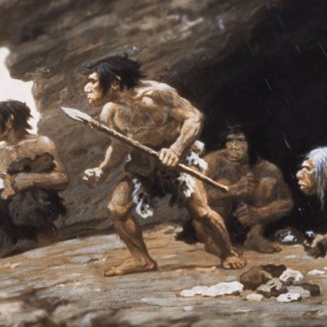 Homo sapiens Néandertaliens battus pendant 100'000 ans
