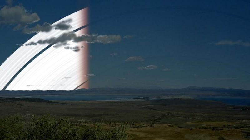 anneaux Terre pendant équinoxe