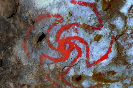 art rupestre plante hallucinogène
