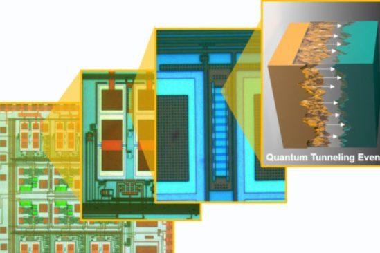 capteur quantique auto-alimenté