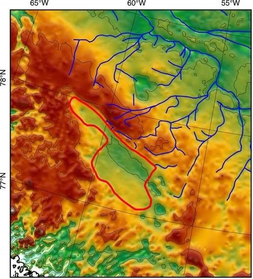 cartographie lac anciens cours eau