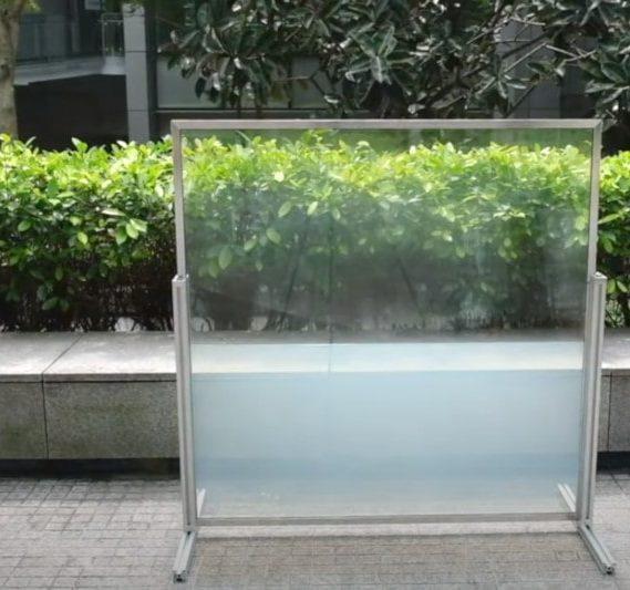 concept fenêtre intelligente thermoréactive