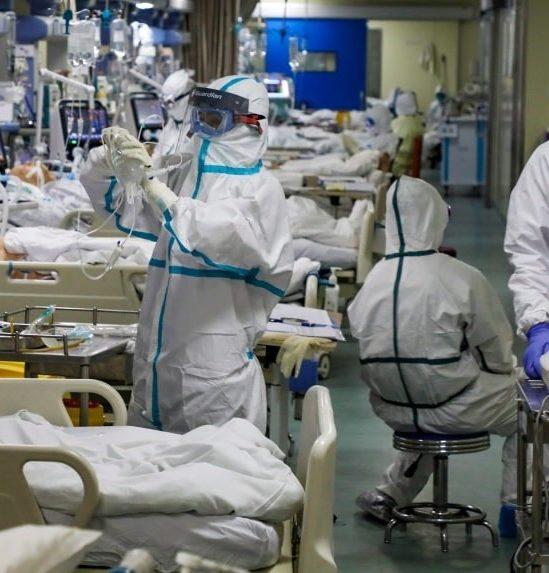diminution taux mortalite covid meilleurs traitements couv
