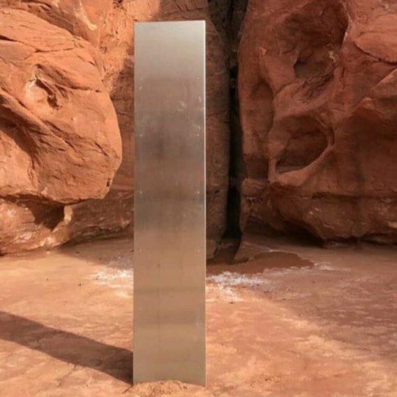 disparition monolithe métal utah