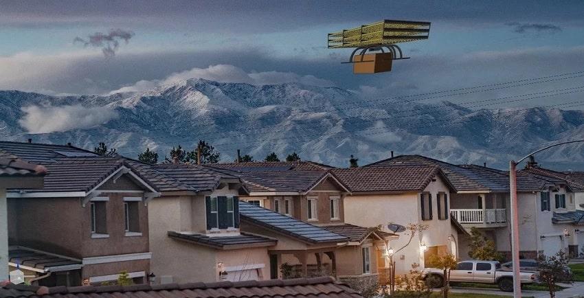 drone propulsion ionique silencieux pieces mobiles