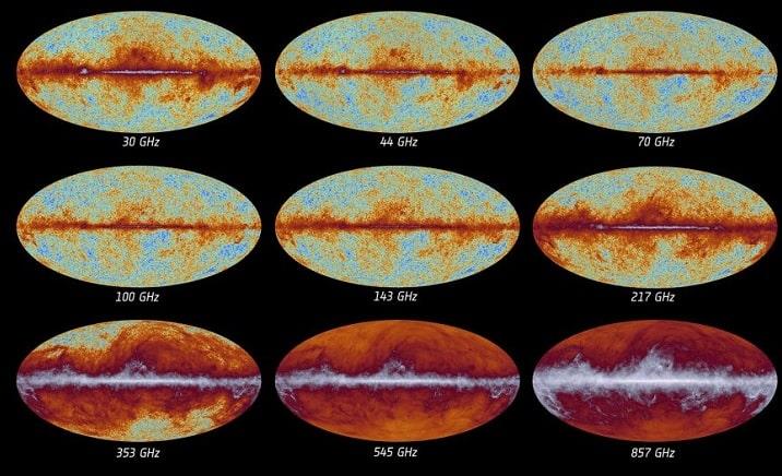 fond diffus cosmologique mission Planck