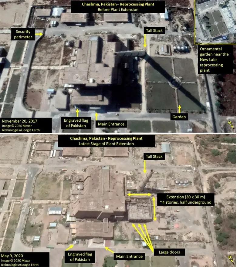 images google earth comparaison etendue usine retraitement