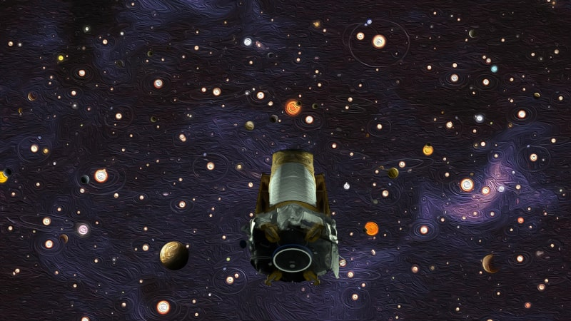 télescope Kepler découvertes exoplanètes
