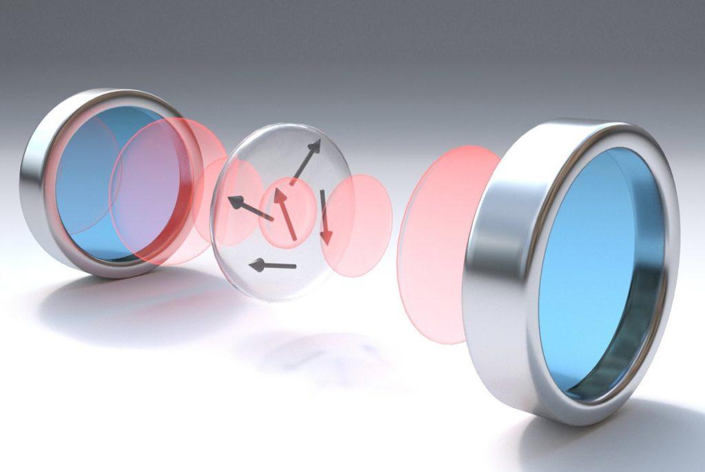 modem quantique garching disque atomes erbium