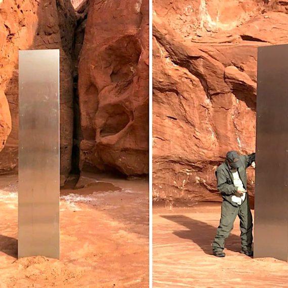 monolithe mysterieux utah