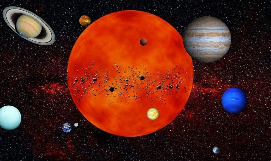 origine positions planètes système solaire
