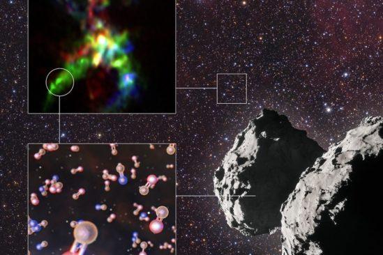 phosphore element necssaire vie detecte dans comete