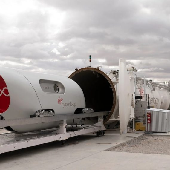 premier test humain réussi pour hyperloop Virgin Hyperloop couv