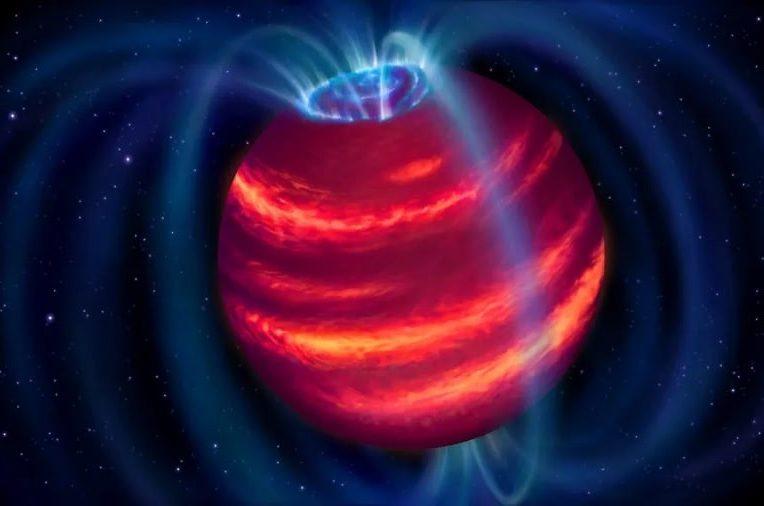premiere detection naine brune radiotelescope couv