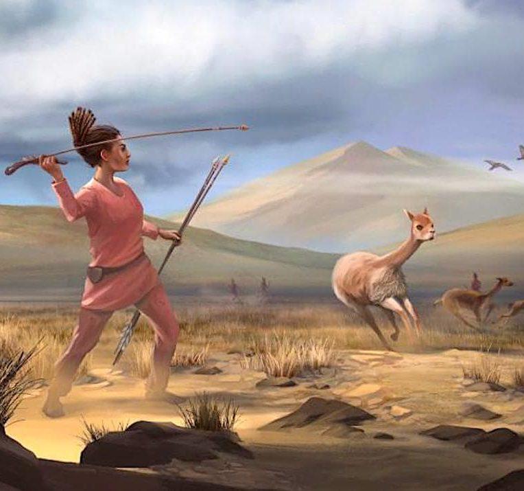 premieres chasseuse ameriques femmes