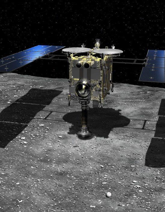 retour échantillons astéroide Hayabusa JAXA
